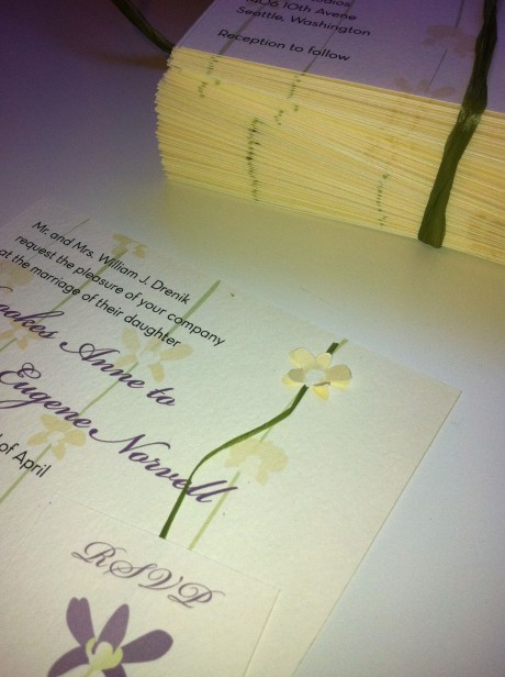 Orchid Invitations