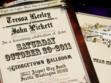 Vintage Halloween Wedding